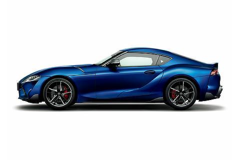 RZ (Deep Blue Metallic exterior color)