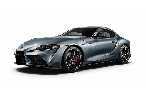 RZ (Matte Storm Gray Metallic exterior color) <Options shown>