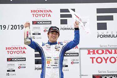 【ドライバー】大嶋 和也 スーパーフォーミュラ 2019年 第2戦 オートポリス