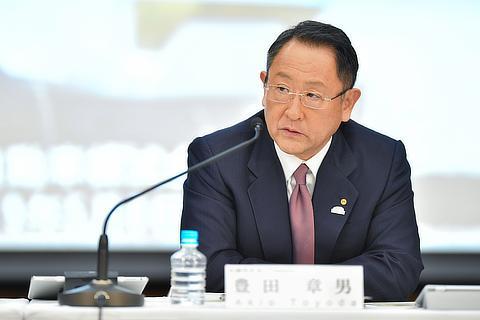 取締役社長 豊田 章男