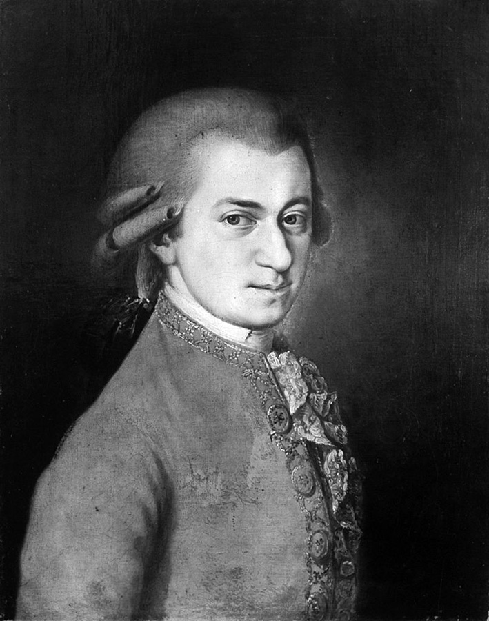 "(Getty Images 1776""Portrait of Wolfgang Amadeus Mozart by Barbara Krafft"")"