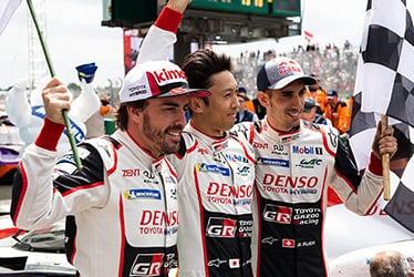 【ドライバー】フェルナンド・アロンソ/中嶋 一貴/セバスチャン・ブエミ 2018-19 WEC Round 8 Le Mans 24 Hours