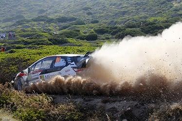2019 WRC Round 8 Rally Italia Sardegna