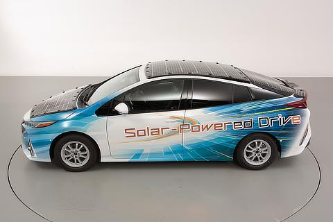 Prius PHV demo model