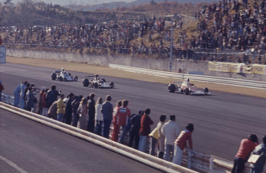 (写真協力/三栄)1974年11月。F1デモンストレーション