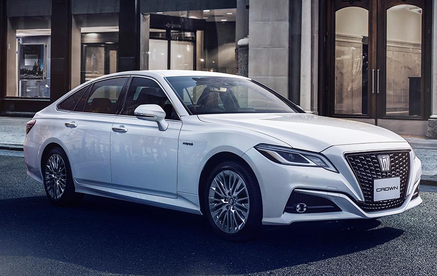 """クラウン 特別仕様車 S""""Elegance Style""""(2.5Lハイブリッド車)<オプション装着車>"""