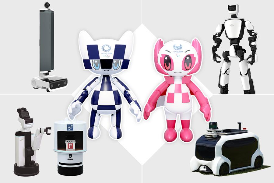 Robots help the Tokyo 2020 Games