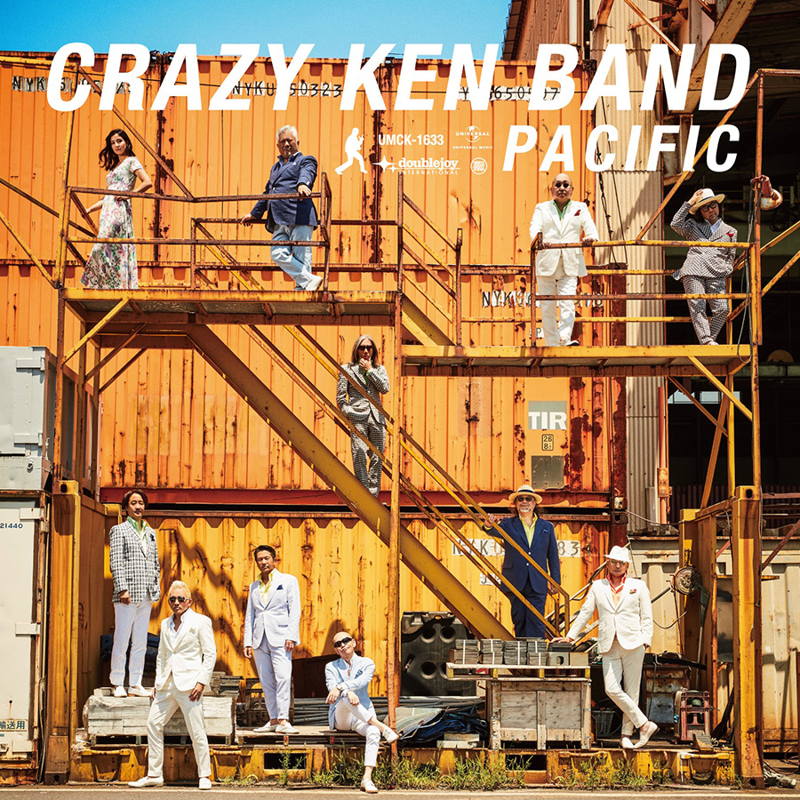 CRAZY KEN BAND/PACIFIC(DOUBLE JOY RECORDS提供)