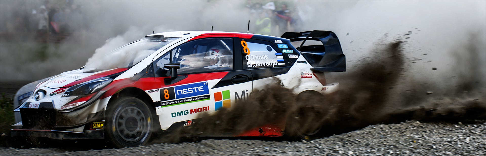 Rally Finland: Day 4 Tänak and the Toyota Yaris WRC score another Finland win