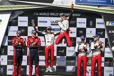 【ドライバー】マルティン・ヤルヴェオヤ/オィット・タナック/ミーカ・アンティラ/ヤリ-マティ・ラトバラ 2019 WRC Round 9 Rally Finland