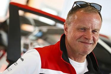 【チーム代表】トミ・マキネン 2019 WRC Round 9 Rally Finland