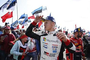 【ドライバー】オィット・タナック 2019 WRC Round 9 Rally Finland