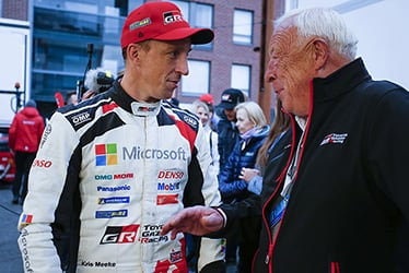 【ドライバー】クリス・ミーク 2019 WRC Round 9 Rally Finland
