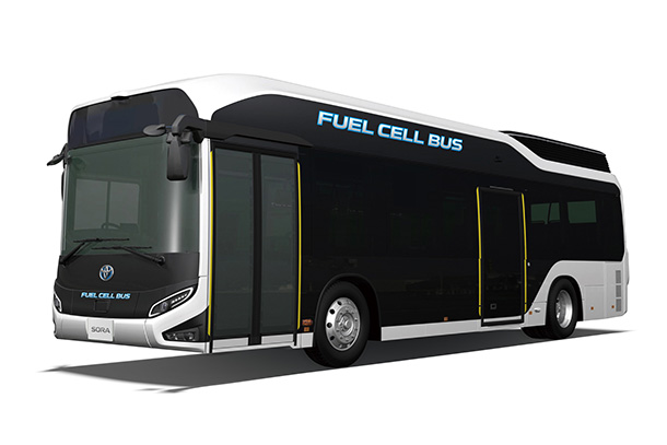 "Toyota Improves Preventive Safety Performance of ""Sora"" FCEV Bus in Japan"