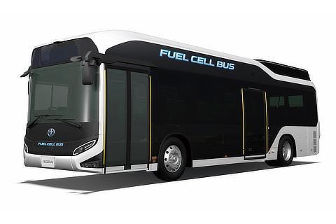 Sora FCEV bus