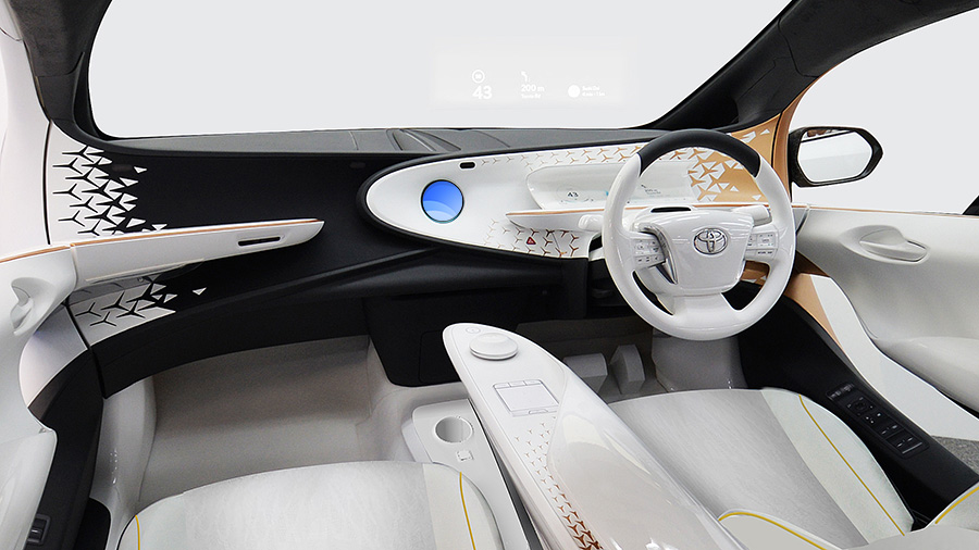 TOYOTA Concept-i (Interior: Front)