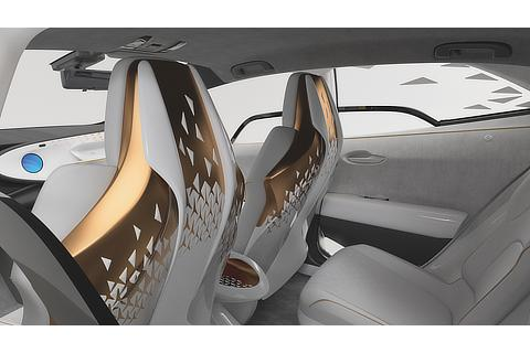 TOYOTA Concept-i (Interior: Rear)