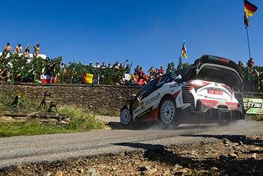 2019 WRC Round 10 Rallye Deutschland