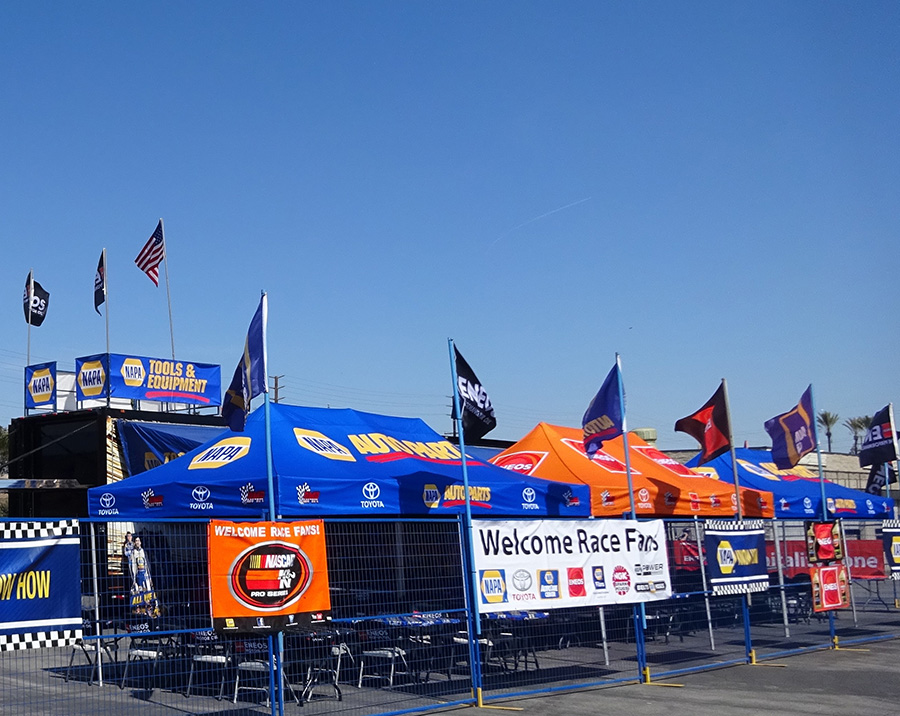 NASCAR風景