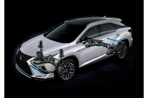 "RX300""F SPORT""(ホワイトノーヴァガラスフレーク)<オプション装着車>"