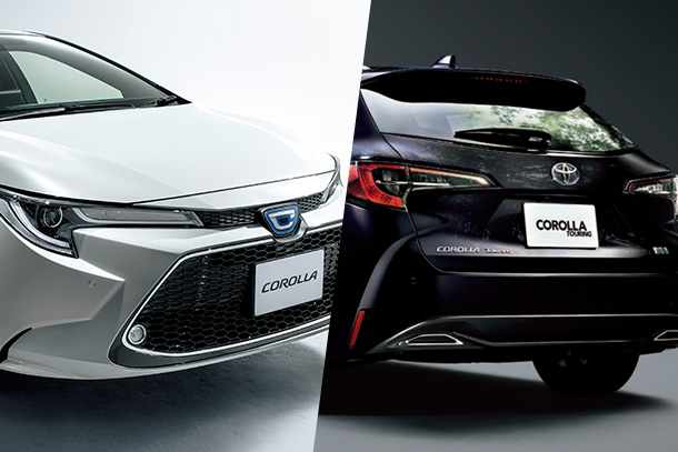 Toyota Rolls Out Completely Redesigned Corolla, Corolla Touring, and Unveils Improvements to the Corolla Sport in Japan