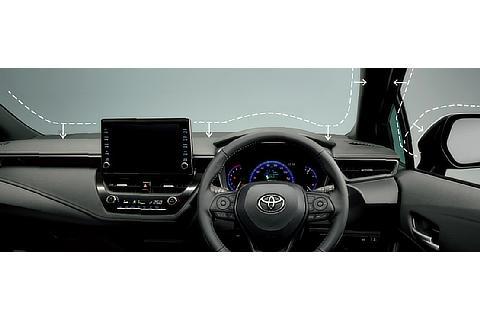 コックピット HYBRID W×B(2WD)(9インチディスプレイオーディオ)<オプション装着車>