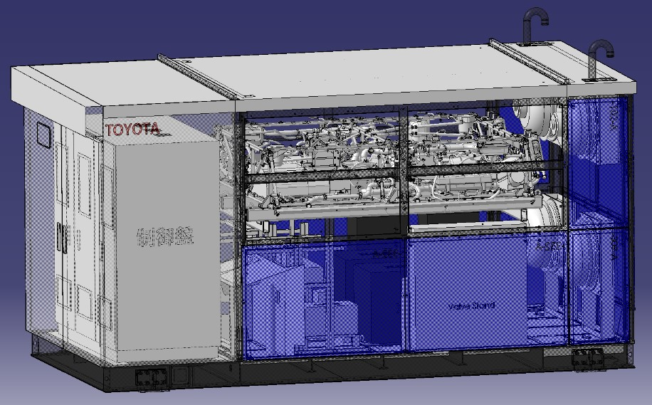 Toyota Installs Stationary Fuel Cell Generator Based on the