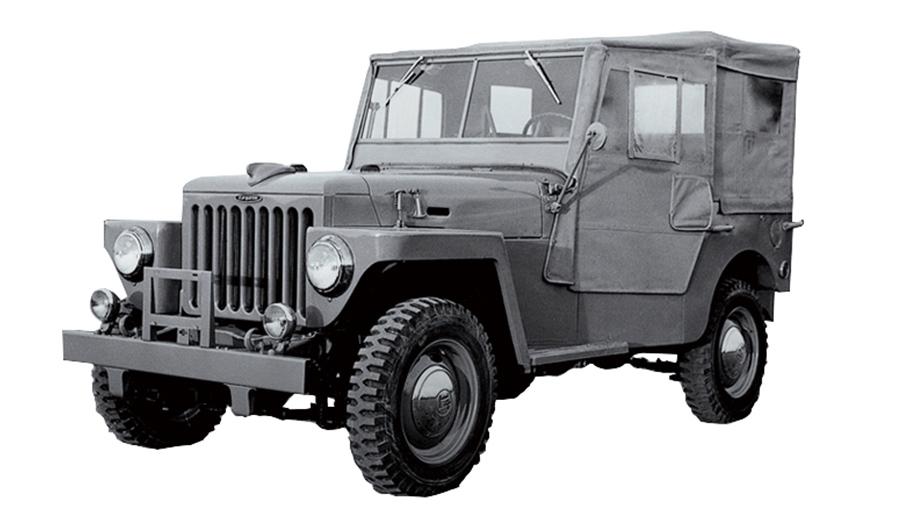 トヨタジープBJ型