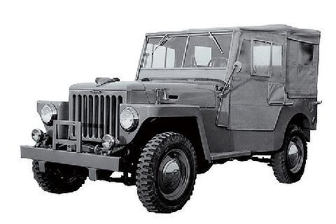 """1951 """"BJ""""型"""