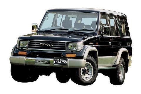 """1990 プラド """"70""""系"""