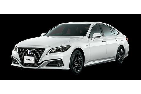 """特別仕様車 S""""Sport Style""""(2.5Lハイブリッド車)(ホワイトパールクリスタルシャイン)<オプション装着車>"""