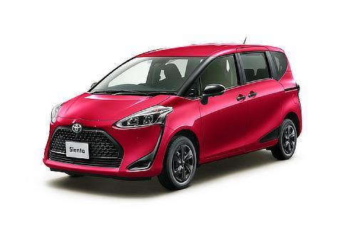 """シエンタ 特別仕様車 G""""GLAMPER""""(4WD)(センシュアルレッドマイカ)"""