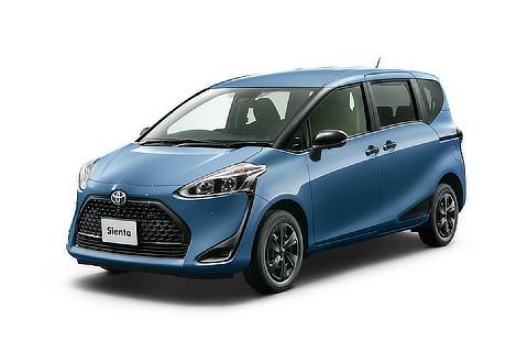"""シエンタ 特別仕様車 G""""GLAMPER""""(4WD)(グレイッシュブルー)"""