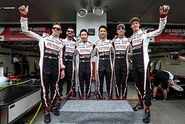 Mike Conway / José María López / Kamui Kobayashi / Kazuki Nakajima / Sébastien Buemi / Brendon Hartley, driver; 2019-20 WEC Round 2 6 Hours of Fuji
