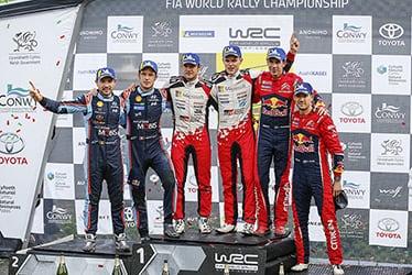 【ドライバー】マルティン・ヤルヴェオヤ/オィット・タナック 2019 WRC Round 12 Rally GB