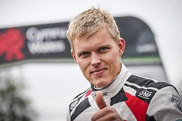 Ott Tänak, driver; 2019 WRC Round 12 Rally GB