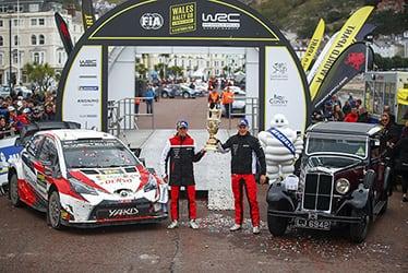 Martin Järveoja / Ott Tänak, driver; 2019 WRC Round 12 Rally GB