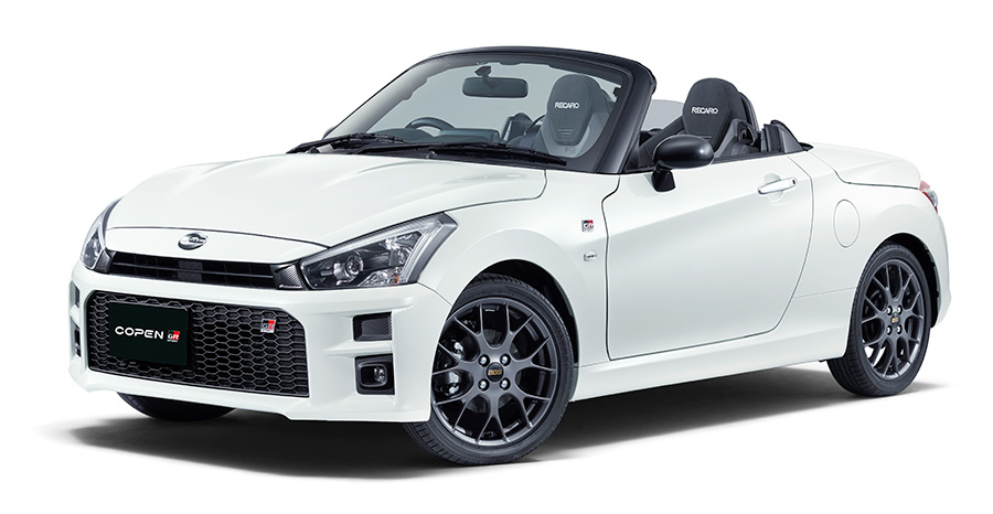 Copen GR SPORT (5-speed manual) (options shown)