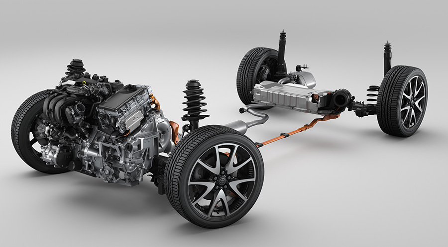 1.5-liter Dynamic Force Engine with Hybrid System