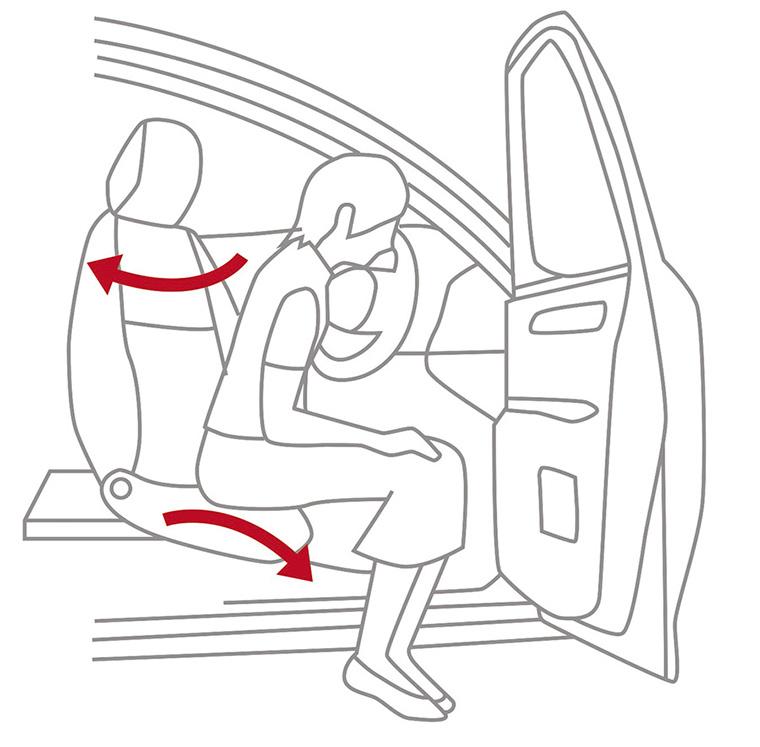 Turn Tilt Seats