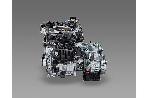 TNGA 1.5-liter Dynamic Force Engine & Direct Shift-CVT