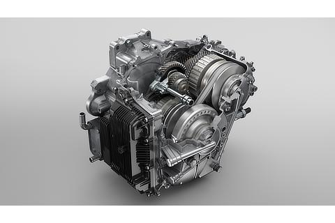 Direct Shift-CVT for the 1.5-liter engine