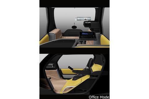 Office mode (Ultra-compact BEV Concept Model for business)