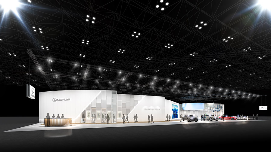 The 46th Tokyo Motor Show 2019 Lexus Booth