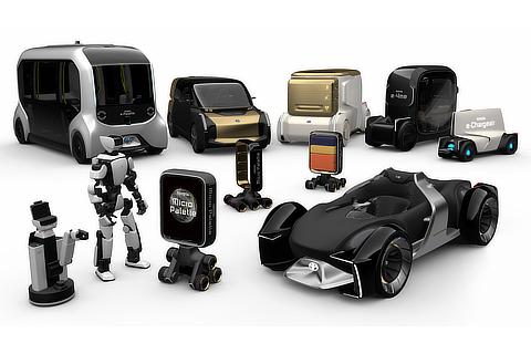 出展モビリティ、ロボット一覧