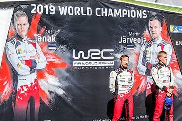 【ドライバー】マルティン・ヤルヴェオヤ/オィット・タナック 2019 WRC Round 13 Rally de España