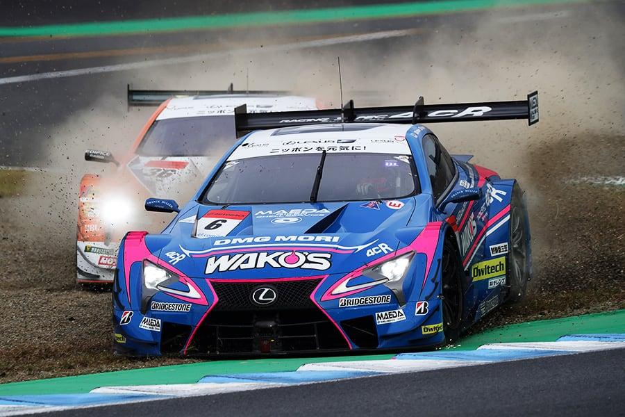 激しい2位争いを制したWAKO'S 4CR LC500 6号車 山下 健太。自らの走りでドライバータイトルの栄冠を手にした。