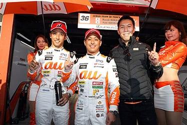 【ドライバー】中嶋 一貴/関口 雄飛/【監督】伊藤 大輔 SUPER GT 第8戦 MOTEGI GT 250km RACE