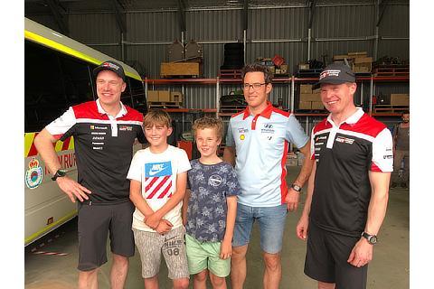 ラリー・オーストラリア WRCチャリティーイベント