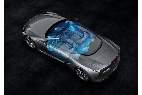 LC500コンバーチブルモデル